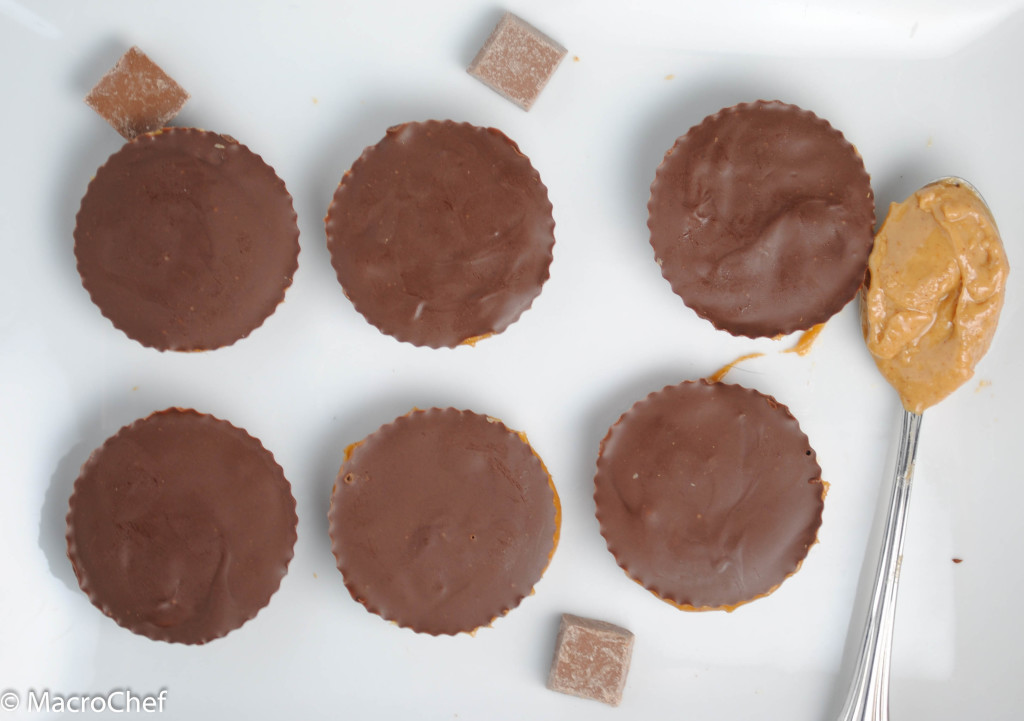 Protein Peanut Butter Cups | MacroChef